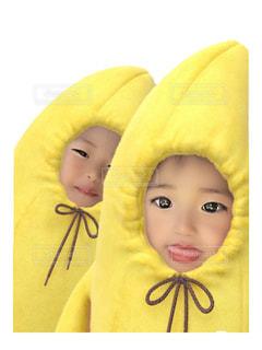 子ども,少女,人形,幼児,グッズ,バナナ,おうち時間,ステイホーム