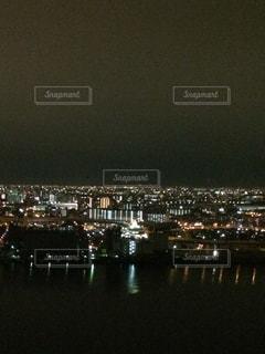 都会の夜景の写真・画像素材[3258555]