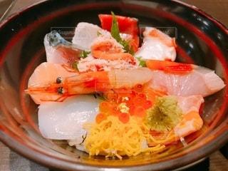 海鮮丼の写真・画像素材[3377131]