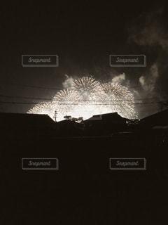 夏の夜の写真・画像素材[3380414]