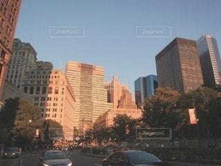 夕暮れの街の写真・画像素材[3396788]