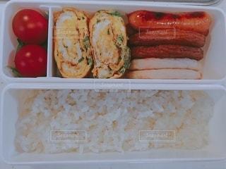 今日のお昼ご飯の写真・画像素材[3639745]