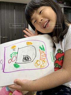 ペン,幼児,手書き,紙,おえかき,おうち時間,お弁当箱の歌