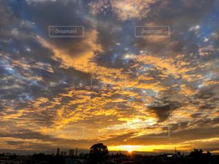 空の雲の写真・画像素材[3395676]