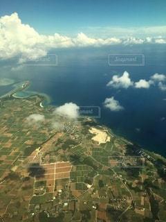 石垣島を空からの写真・画像素材[3543593]