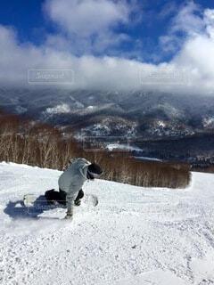 自然,空,冬,雪,山,スキー,運動,スノーボード,斜面,ウィンタースポーツ
