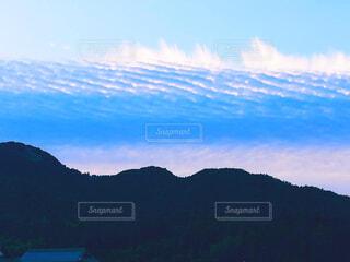 神秘的な雲の写真・画像素材[3974169]
