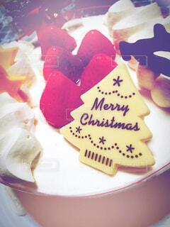 クリスマスケーキの写真・画像素材[4000100]