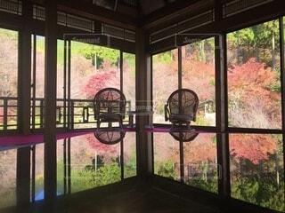 大きな窓の眺めの写真・画像素材[3714370]
