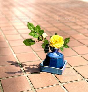 和花瓶の写真・画像素材[4322410]
