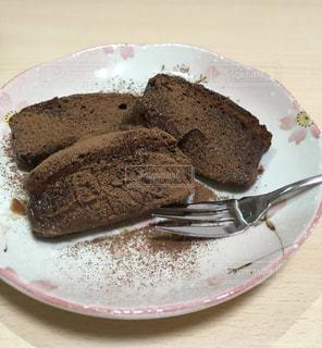 初めてのガトーショコラの写真・画像素材[3262901]