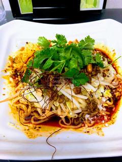 冷し麻辣麺の写真・画像素材[3275416]