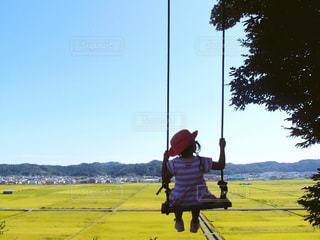 絶景ブランコの写真・画像素材[778009]