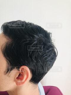 メンズショートヘアの写真・画像素材[4351198]