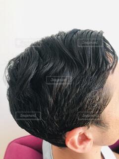 メンズショートヘアの写真・画像素材[4351204]