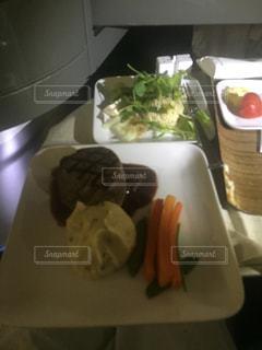ステーキ,機内食,ビジネス