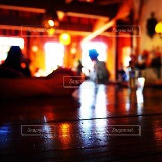 キャンプ場のカフェの写真・画像素材[3275819]