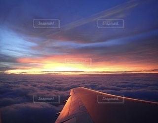 空の雲の写真・画像素材[3351976]