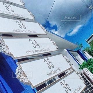 外人住宅街の案内板の写真・画像素材[3418963]