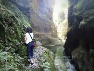 多摩川上流ハイキングの写真・画像素材[3575047]