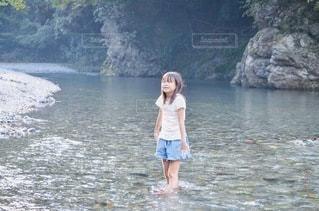 川遊びの写真・画像素材[3642969]