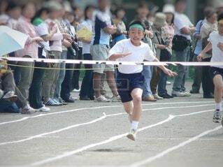 徒競走の写真・画像素材[3806448]