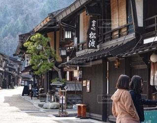 奈良井宿の写真・画像素材[3840206]