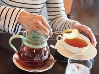 紅茶の写真・画像素材[3853254]