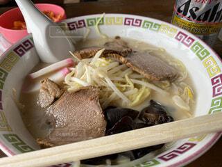 とんこつチャーシュー麺の写真・画像素材[3759582]