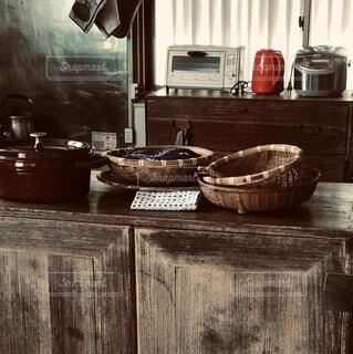 昭和の台所の写真・画像素材[4801292]