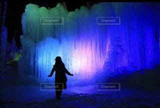 氷の世界の写真・画像素材[4031829]