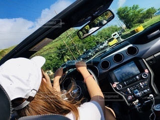 ハワイでドライブの写真・画像素材[3281810]