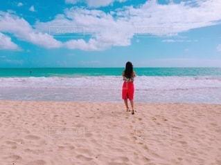 ハワイのビーチの写真・画像素材[3283294]