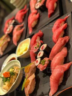 食べ物の皿のクローズアップの写真・画像素材[3848794]