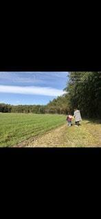 小春日和に大地を踏むの写真・画像素材[3287200]