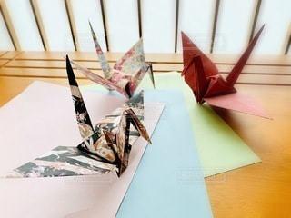 折り鶴の写真・画像素材[3356978]