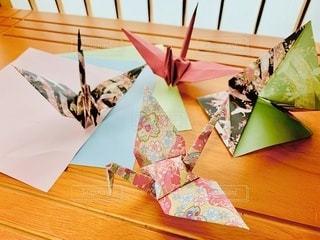 折り鶴の写真・画像素材[3357391]