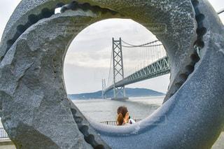 明石海峡大橋。の写真・画像素材[3307495]