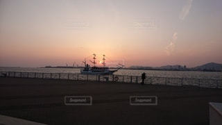 日没の風景の写真・画像素材[3298711]