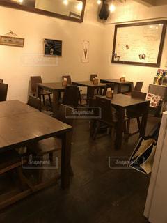 カフェのテーブルの写真・画像素材[2280149]