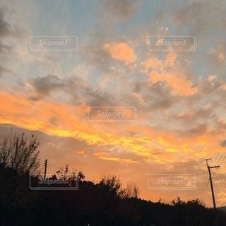 夕暮れの写真・画像素材[3376524]