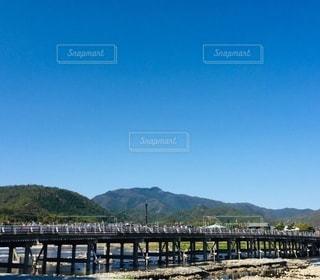 京都渡月橋の写真・画像素材[3387401]