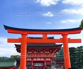 京都伏見稲荷大社の写真・画像素材[3387433]