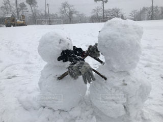 雪の山。の写真・画像素材[3311137]
