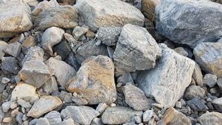 岩~Rocky Backgroundの写真・画像素材[3358812]