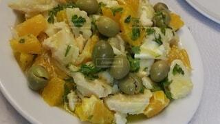 Ensalada Malagueño マラガ風サラダ スペイン料理の写真・画像素材[3907085]