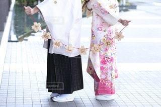 結婚式の前撮り写真の写真・画像素材[3307071]