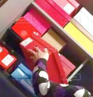 眠っている靴たち。の写真・画像素材[4162202]