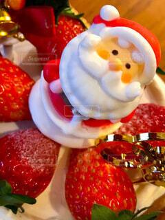 クリスマスケーキの写真・画像素材[3980242]