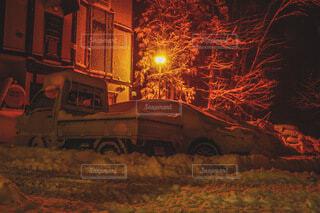 暖雪の写真・画像素材[4146483]